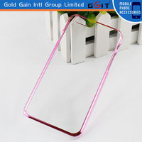Color Bumber Case for iphone 6,Super Transparent PC Clear Case for iPhone 6