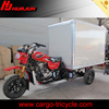 200CC three wheel motorcycle with closed cargo box