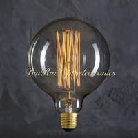 High quality vintage edison globe 60w G125(G40) e27 Edison light bulbs