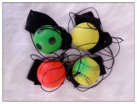 sponge rubber balls with string