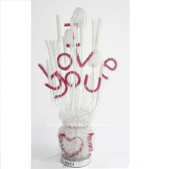 Handmade Beautiful Flower Vase Shapes LRF010 Lighting Floor Lamp