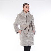 Competitive Price Best Quality Elegant Winter Fur Coat Made In China