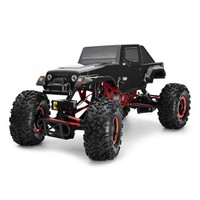 1/10 Scale Electric Remote Control Buggy 4WD 2WS Off Road RC Rock Crawler Truck Car