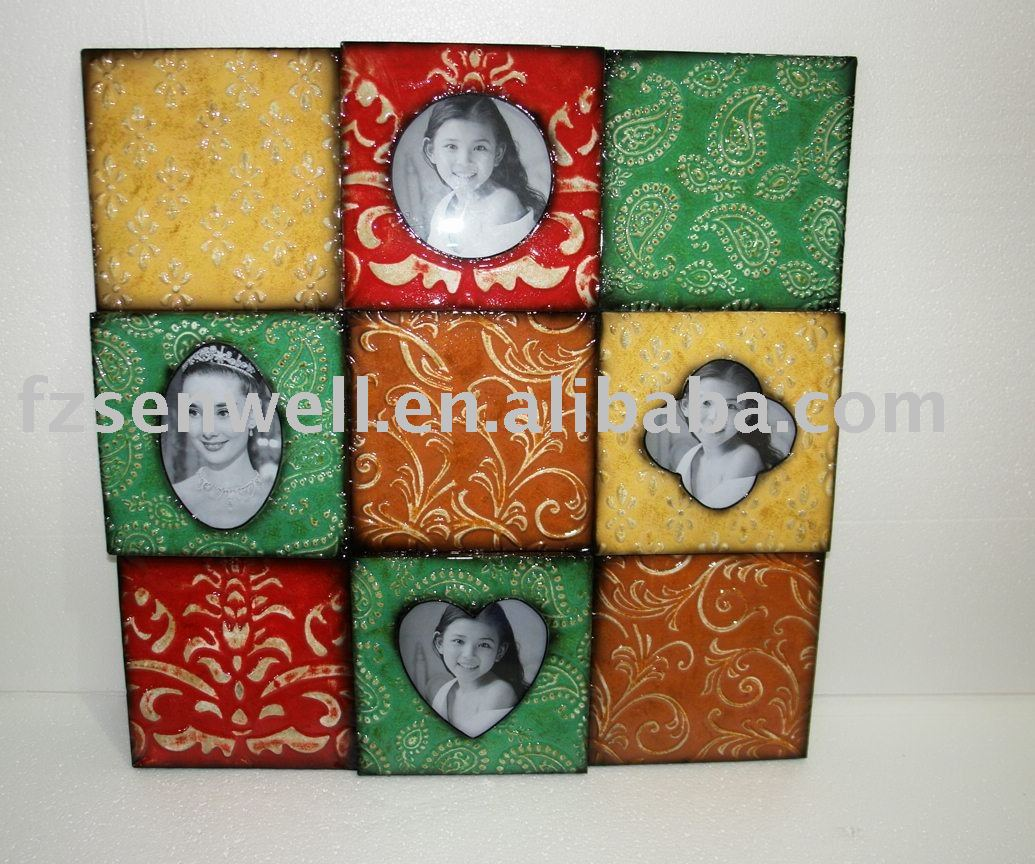 2010 hot decorative metal photo frame for home decor