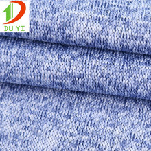 wholesale 100%polyester organic knit yarn dyed slub hacci fabric for sweater