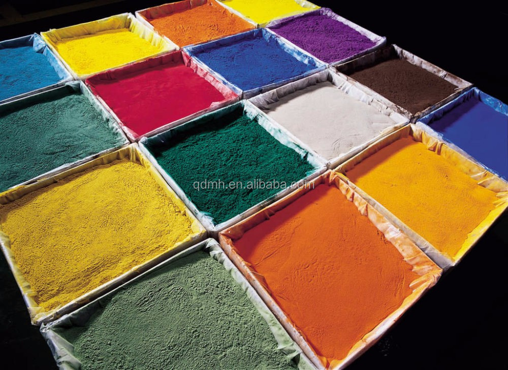 ral color electrostatic spray powder coating,epoxy polyester coating