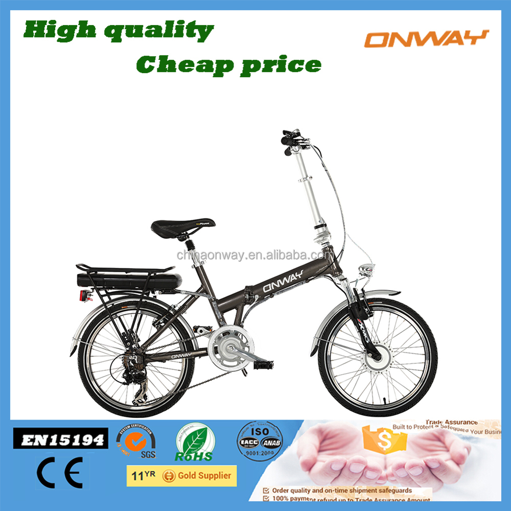 China top rated 20 inch foldable bike with motors