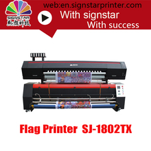 signstar 1.8m textile printer sublimation printer flag banner cloth printing machine with C
