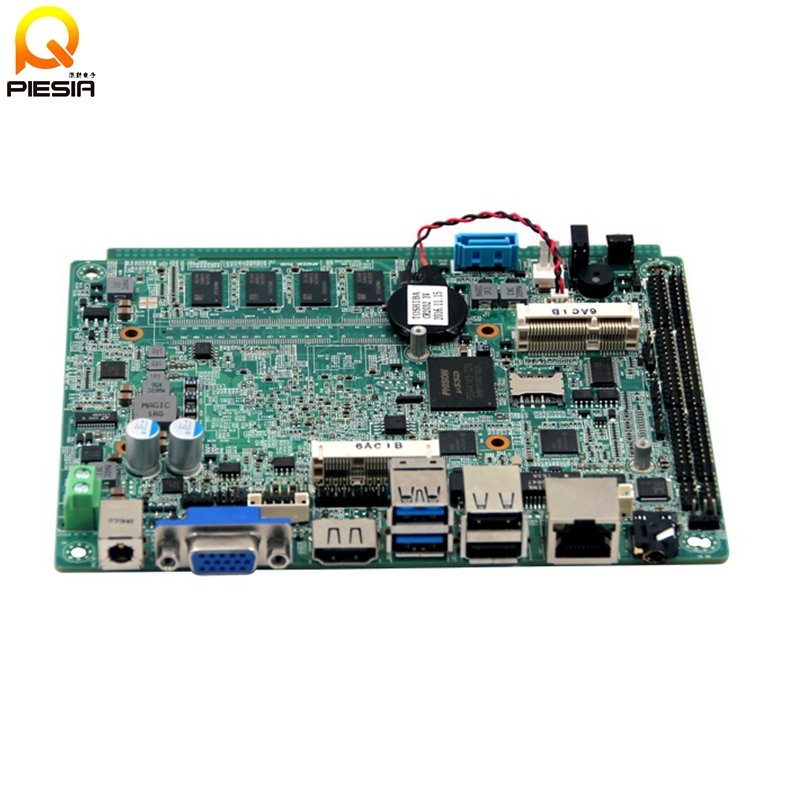 3.5 inch embedded apollo lake motherboard 4GB ram onboard 32G ssd