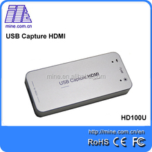 Newest Hd Video Capture Card Game Capture 1080p for Linux UVC