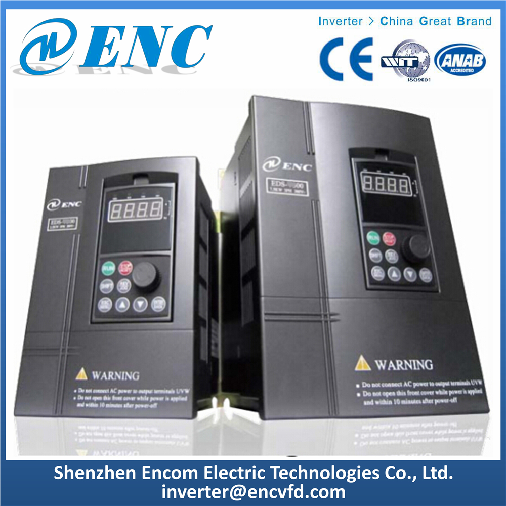 1 Phase Input 1 Phase Output Frequency Inverter 1.5kW VFD for Water Pump