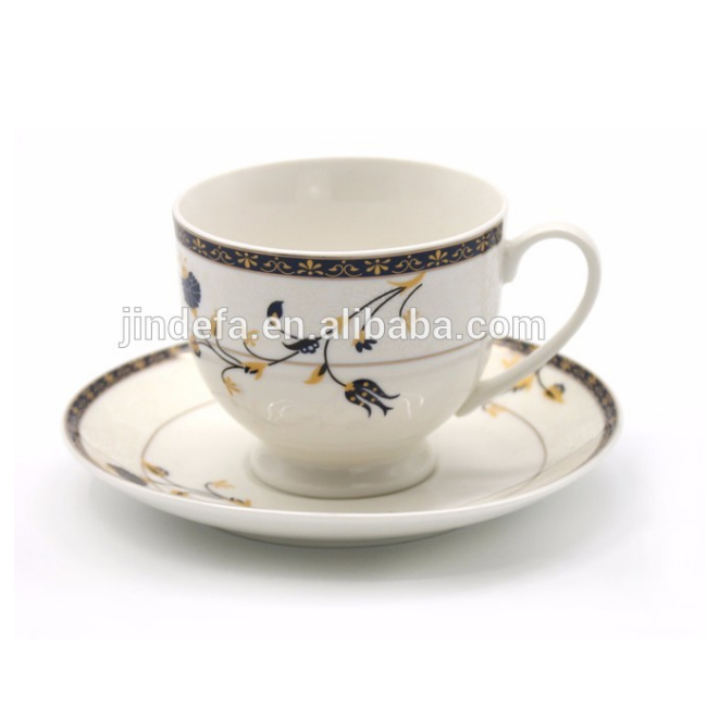 90cc <strong>coffee</strong> and tea set with favorable Price and flower pattern