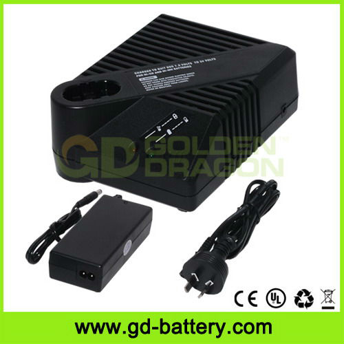 Universal power tool battery charger for BOS-CH 7.2V~24V Ni-CD and Ni-MH batteries