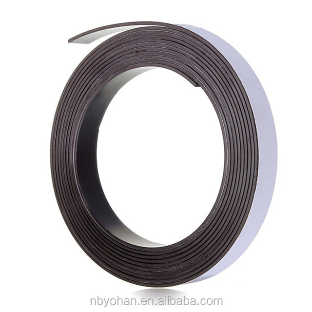 3 Meter 12.7 x 1.5mm Self Adhesive Rubber Magnetic Tape <strong>Magnet</strong> Strip Strong suction Can Cut a Variety of Shapes DIY