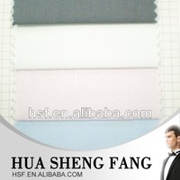 High Quality 100 Cotton Yarn Dyed Woven White Cotton Shirting Fabrics