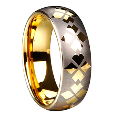 China supplier latest gold wedding ring
