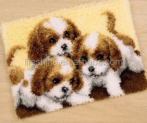 Carpet embroidery kit&Latch hook rug kit