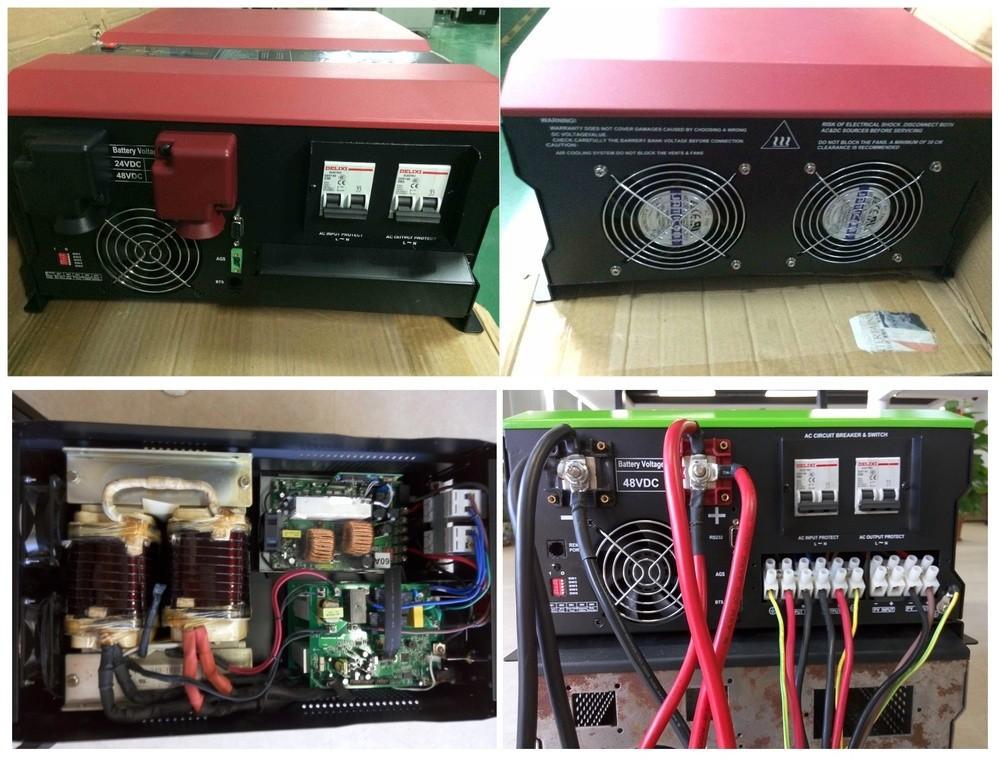 8kw 48v 230vac Solar Inverter Power Inverter Hybrid