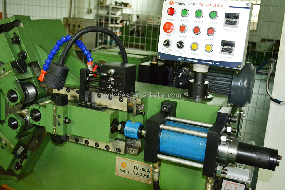 bolt forming machine three rollers thread rolling machine TB-60A