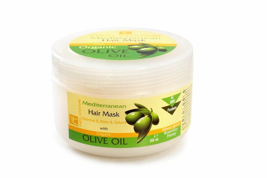 Olive oil and wheat Hair Mask PROMO