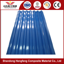 polycarbonate color coated corrugated galvanized steel roofing sheet