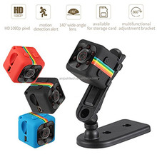 Mini SQ11 HD 1080P Home SPY Camera DVR DV Car Audio Voice Video Recorder Mini Camcorder Camera Stand 360 Degree Surveillance Cam