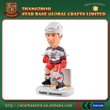 Cheap price wholesales resin men's ice hockey bobble head