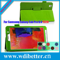 2 Fold Colorful Smart Magnetic Leather Case Cover Stand For Samsung Galaxy Tab Pro T320