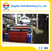 Plastic carpet stair nosing production line