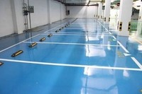 scratch resistant epoxy resin paint for juice factory dustproof flooring