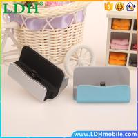 Colorful Phone Charging Dock Charger with Data Sync cradle stand Docking Station for Samsung HTC XIAOMI etc. Android Phone SP242