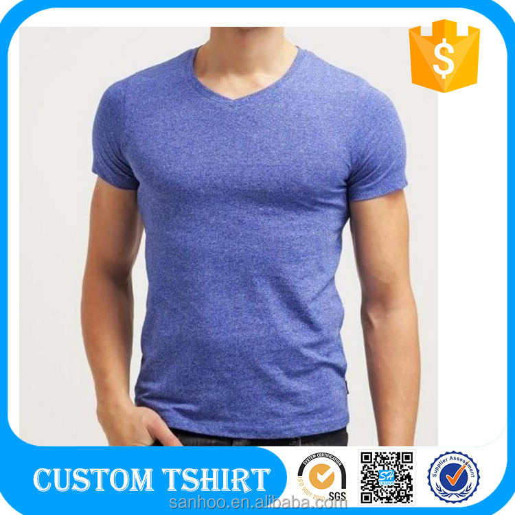 Custom Fitness Apparel Men's GYM Sport T Shirt Fitted Tee Shirt Factory