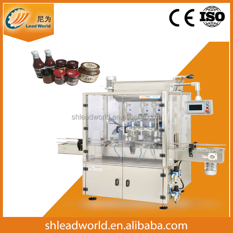 Jam Filling Machine/Tomato Sauce Packing Machine packing line Shanghai factory CE approved