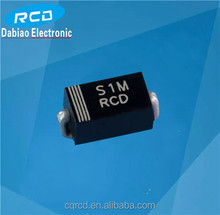 Trade factory 1A SMA Package General Purchase Rectifier Diode S1A,S1B,S1D.S1G,S1J,S1K,S1M SMD diode