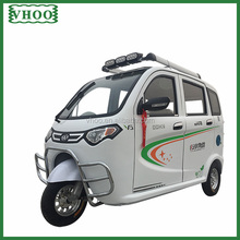 electric tricycle for passenger/closed electric tricycle/electric tricycle with roof/3 wheels cycle