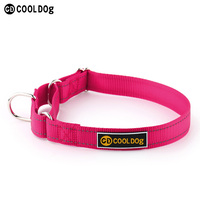 Strong Training Martingale Collars With Reflective 100% Nylon Webbing