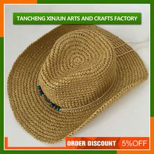 Men Folding Straw Hats