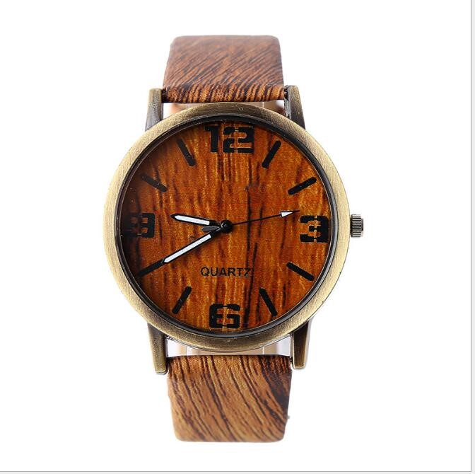 <<< BL- New Design Fashion Style Wood Watch Elegance Man Watch With Smart Watch