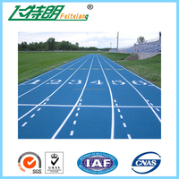 Full Pu System Athletic Running Track Synthetic Runway