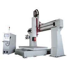 5 axis car mold cnc router engraving and carving machine
