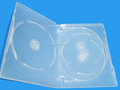 good quality 14mm Multi-disc clear dvd case for pp plastic