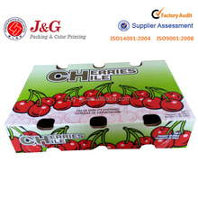 corrugated paper box for fresh cherry