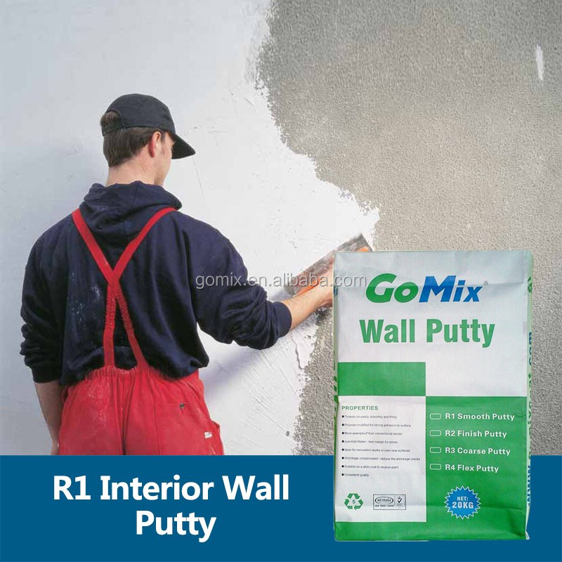 Provide Smooth and Flat Surface for Painting by R1 Plaster Powder