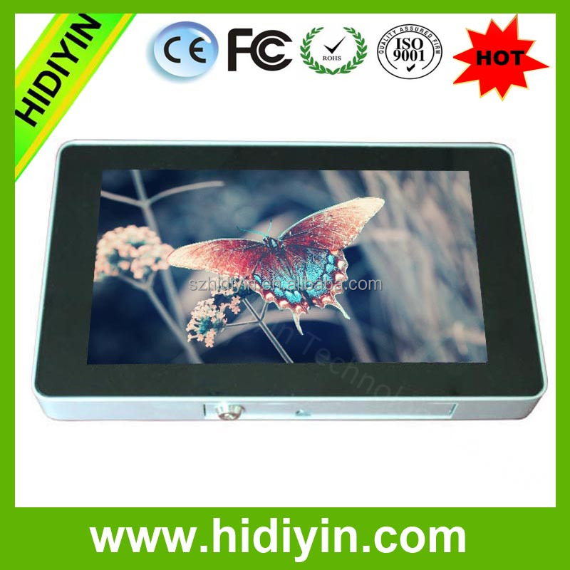 9inch wall mounting advertisement information kiosk advertisement lcd product display monitors wall mount lcd