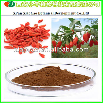 Factory Supply Wolfberry Extract/Goji Berry Extract, Polysaccharides