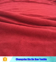 100% polyester coral fleece fabric one side brushed china supplier
