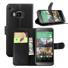 For HTC one M9,Covers Cases for HTC m9,Leather Flip Cover for HTC Mobile Phone Stuff