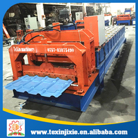 Cheap color roof tile making machine price
