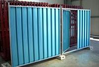Panel For Sheet Fencing In Stainless Steel