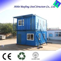 quality prefabricated costeffective steel frame transpack porta cabins